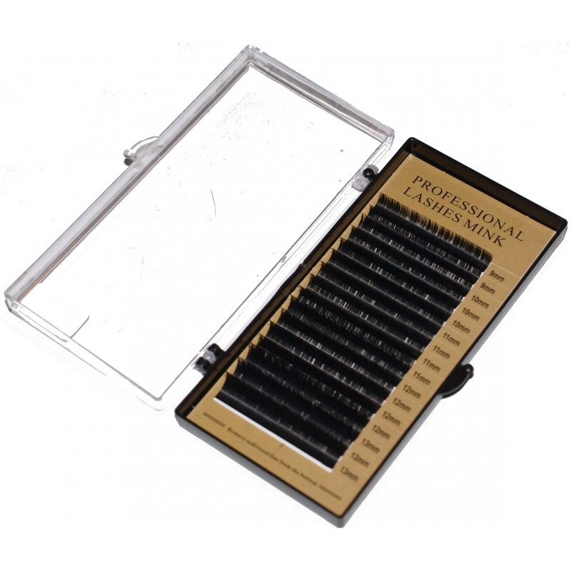 Rzęsy Professional Lashes paletka - D 0,25 mix