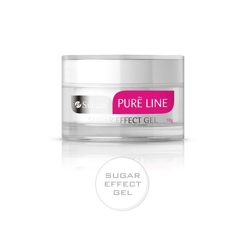 Żel UV Silcare Pure Line Sugar Effect